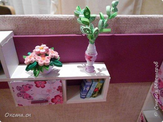 Всем привет! Сегодня я к вам с той же мебелью, что и в прошлый раз, только немного доделанной и приукрашенной.    фото 5