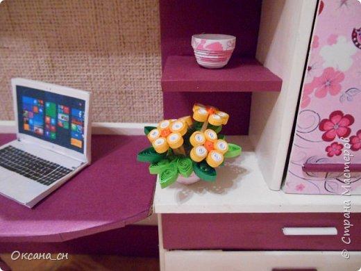 Всем привет! Сегодня я к вам с той же мебелью, что и в прошлый раз, только немного доделанной и приукрашенной.    фото 4