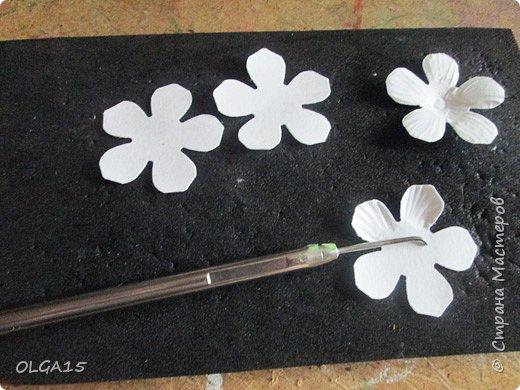 Добрый вечер, жители и гости Страны Мастеров! Для одной из работ потребовались мне цветы нарцисса, хочу поделиться с вами этапами изготовления цветка, возможно вам пригодится для весенних работ. фото 4