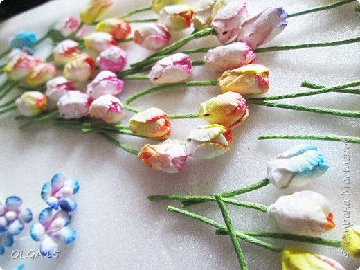 Добрый вечер, жители и гости Страны Мастеров! Для одной из работ потребовались мне цветы нарцисса, хочу поделиться с вами этапами изготовления цветка, возможно вам пригодится для весенних работ. фото 25