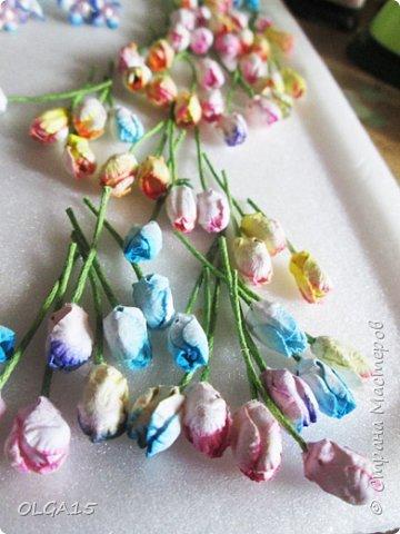 Добрый вечер, жители и гости Страны Мастеров! Для одной из работ потребовались мне цветы нарцисса, хочу поделиться с вами этапами изготовления цветка, возможно вам пригодится для весенних работ. фото 26