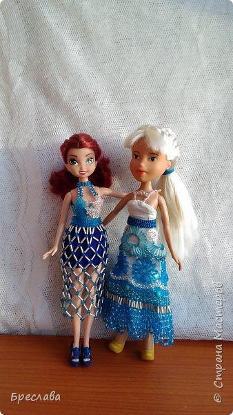Оба костюма были сделаны для Ариэлиан (фея), но один из них идеально подошёл и на Ольгу (братц) фото 1