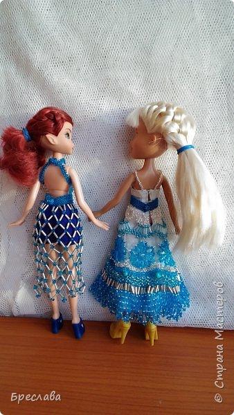 Оба костюма были сделаны для Ариэлиан (фея), но один из них идеально подошёл и на Ольгу (братц) фото 2