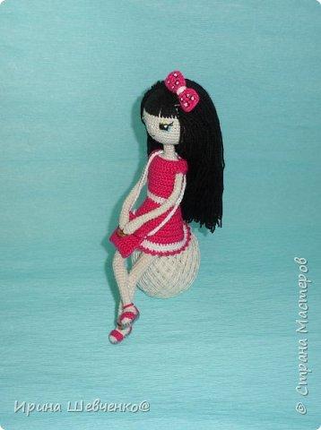Кукла на проволочном каркасе. фото 3