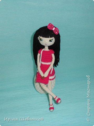Кукла на проволочном каркасе. фото 1