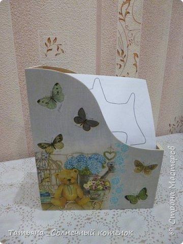 """Подставка для бумаги """"Мишутки"""" для выкроек игрушек и кукол (двухсторонняя) фото 1"""