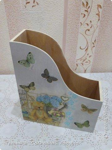 """Подставка для бумаги """"Мишутки"""" для выкроек игрушек и кукол (двухсторонняя) фото 5"""
