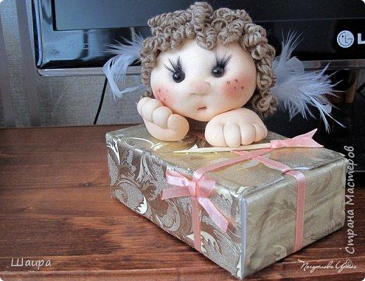 Купидон с подарочной упаковкой фото 16
