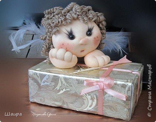 Купидон с подарочной упаковкой фото 1