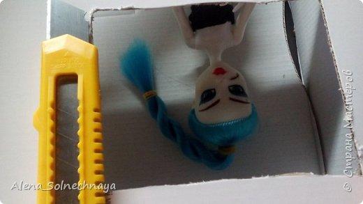 Всем привет! Сегодня я хочу показать как делать RoomBox. Или у меня это дом-книжка.  РумБокс - это комната для кукол. Сегодня я буду делать для моей новенькой))) фото 5