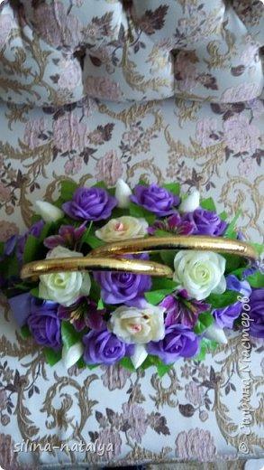 Украшение на свадебные машины фото 3