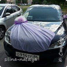 Украшение на свадебные машины фото 15