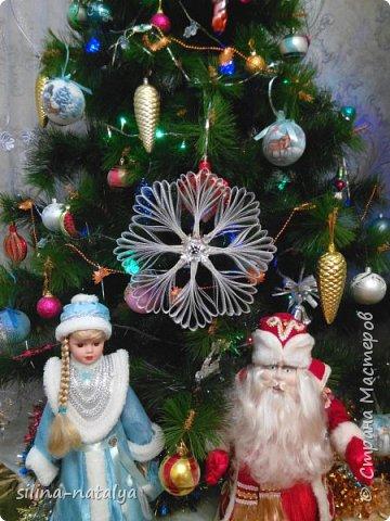 Ребенок в интернете увидел снежинку и попросил сделать  такую же для конкурса снежинок, занял приз зрительских симпатий фото 2