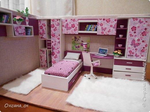 Всем привет! Сегодня я к вам с той же мебелью, что и в прошлый раз, только немного доделанной и приукрашенной.    фото 11