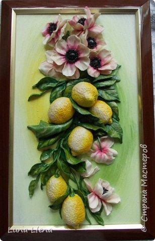 Лимоны и клематисы фото 1