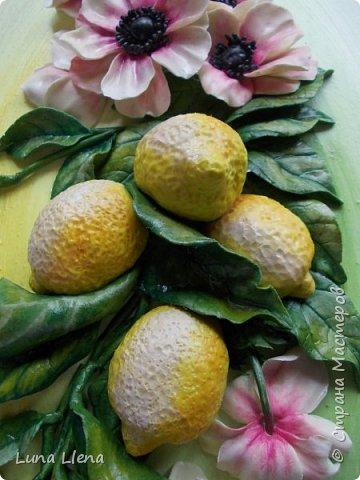 Лимоны и клематисы фото 11