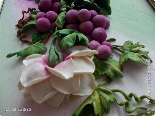 Розы и виноград фото 12