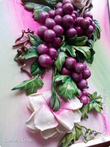 Розы и виноград фото 13