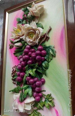 Розы и виноград фото 15