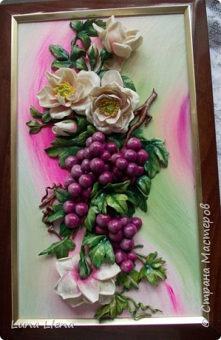 Розы и виноград фото 1