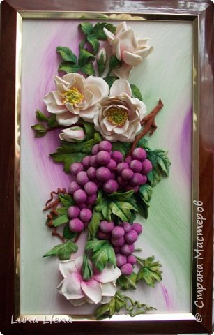 Розы и виноград фото 2