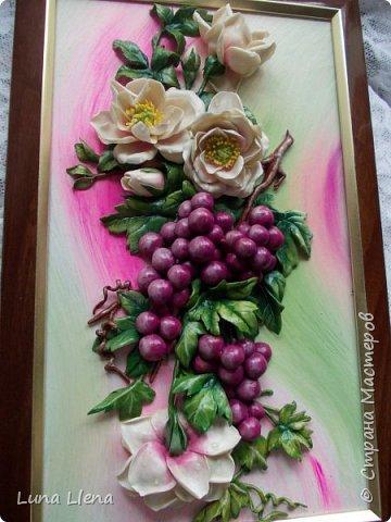 Розы и виноград фото 3