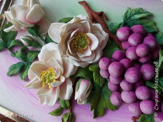 Розы и виноград фото 8