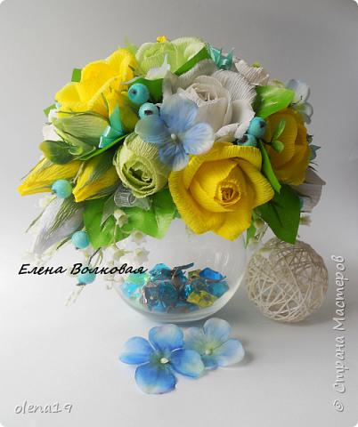 Весна наступила! Несколько весенних работ. Первый букет на вазе - в подарок светлому человеку. фото 1