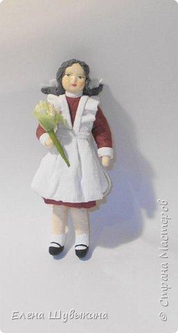 Куклы из ваты (елочные игрушки) фото 8