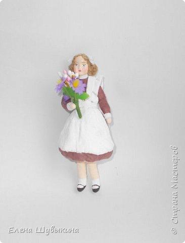 Куклы из ваты (елочные игрушки) фото 7