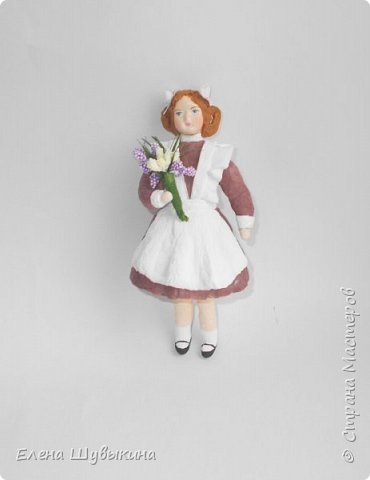 Куклы из ваты (елочные игрушки) фото 6