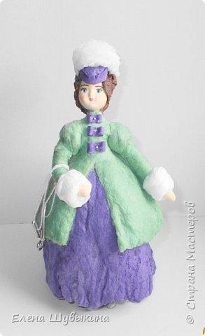 Куклы из ваты (елочные игрушки) фото 1