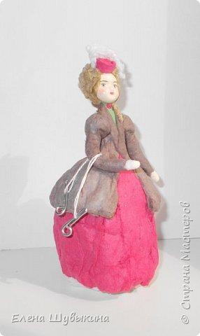 Куклы из ваты (елочные игрушки) фото 2