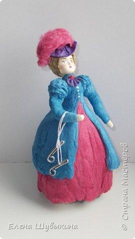 Куклы из ваты (елочные игрушки) фото 5