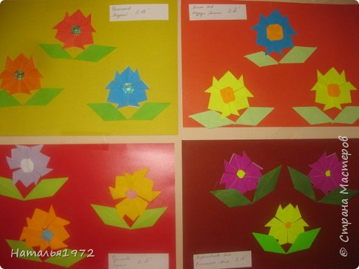 Цветы оригами фото 1
