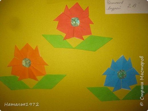 Цветы оригами фото 4
