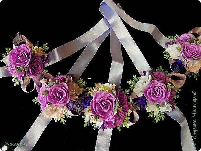 Подвязки для подружек невесты. фото 1