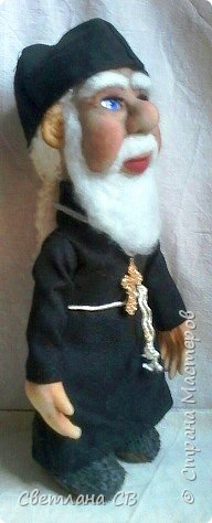 Вот такой служитель Православной церкви,родился у меня,к Пасхе. Рост 25 см фото 4