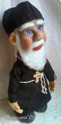 Вот такой служитель Православной церкви,родился у меня,к Пасхе. Рост 25 см фото 5