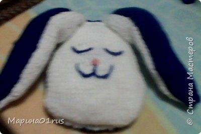 "Подушка-сплюшка ""Заяц"". фото 8"