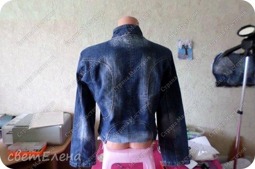 """на тему """"картина в раме"""" меня вдохновила форма кармана. скучная куртка досталась мне по случаю - выбрасывали ее не ношеной. скучная, хоть и дорогая фирма. я ее """"полюбила"""". и вот отдаю на ваш суд! фото 3"""