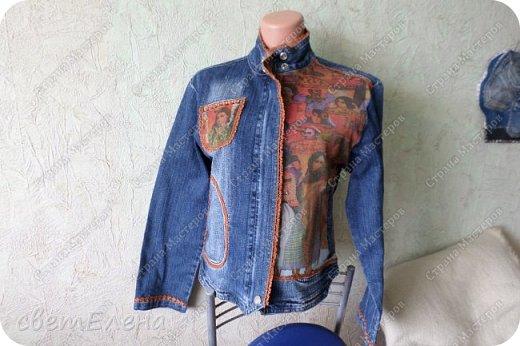 """на тему """"картина в раме"""" меня вдохновила форма кармана. скучная куртка досталась мне по случаю - выбрасывали ее не ношеной. скучная, хоть и дорогая фирма. я ее """"полюбила"""". и вот отдаю на ваш суд! фото 5"""