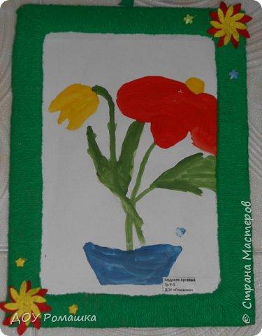Представляем  Вашему вниманию работы наших малышей с выставки, посвященной празднику 8 Марта. фото 7