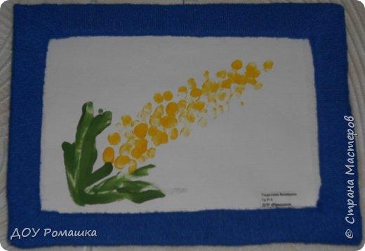 Представляем  Вашему вниманию работы наших малышей с выставки, посвященной празднику 8 Марта. фото 8