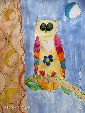 Рисунки детей 7-9 лет. фото 2