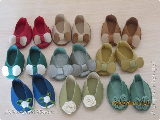 Кукольные туфельки- 3см,4 см,5см. фото 1