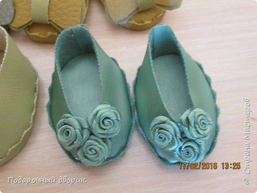 Кукольные туфельки- 3см,4 см,5см. фото 2