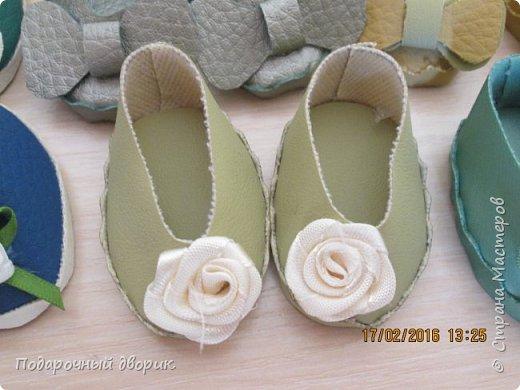 Кукольные туфельки- 3см,4 см,5см. фото 3