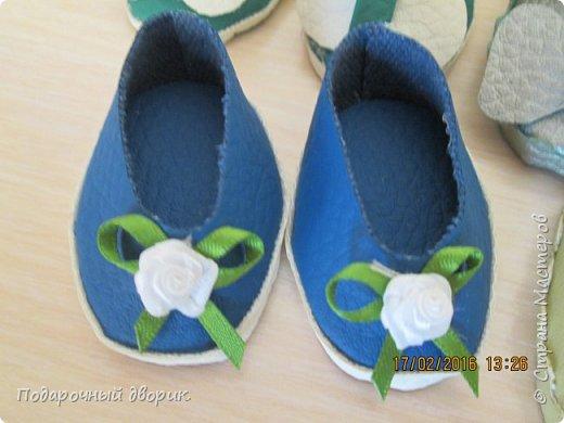 Кукольные туфельки- 3см,4 см,5см. фото 4