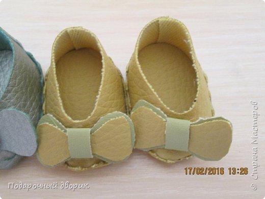 Кукольные туфельки- 3см,4 см,5см. фото 5